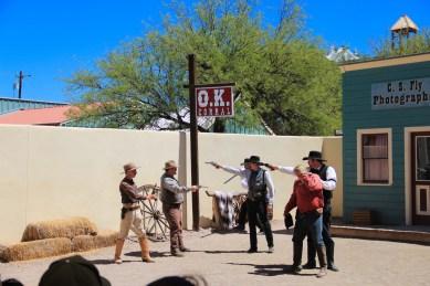 Tombstone OK Corral Gunfight