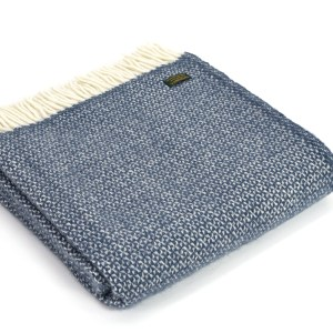 Blue Slate Illusion Throw