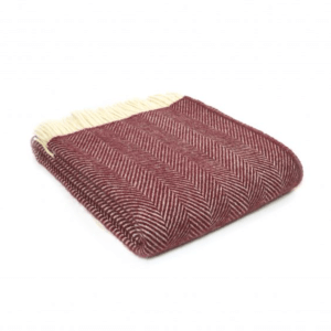 Rosewood Fishbone Throw