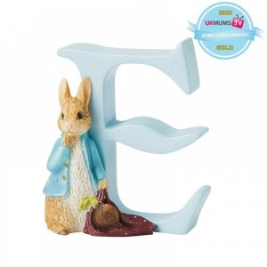 """Peter Rabbit – """"E"""" – Peter Rabbit with Onions"""