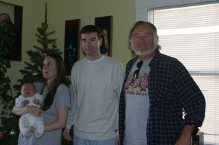 Orion, Beth, Me and Dad