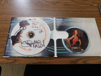 Erin Hill autographed CD