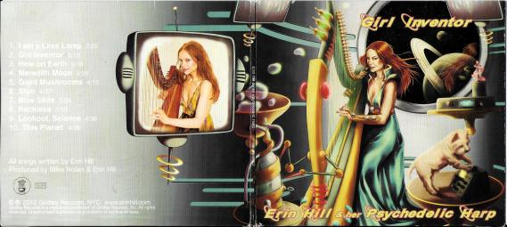 Erin Hill & her Psychedelic Harp - Girl Inventor