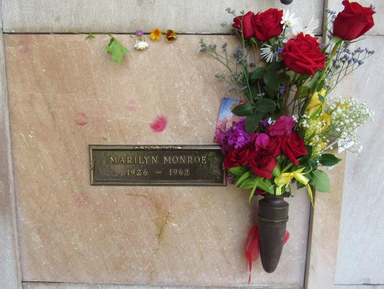 Marilyn Monroe Grave Marker