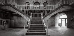Kingston Pen central staircase