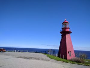Lighthouse in Percé, Quebec