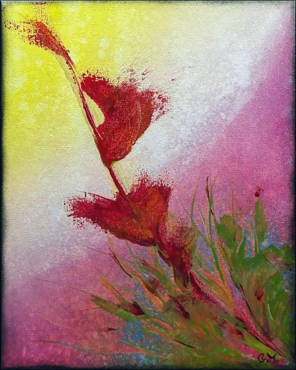 Acrylique sur toile, 30x24
