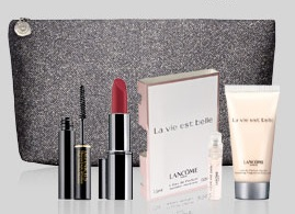 Lancome GWP at Bon Ton and Bloomingdale's