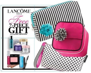 Sneak Peek of upcoming Lancome GWP