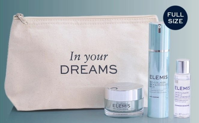 elemis gift with purchase