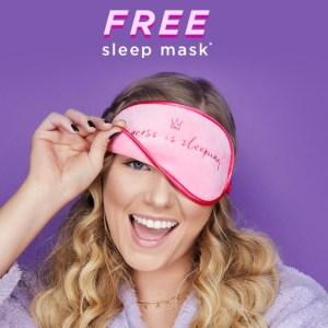 Tarte cosmetics sleep mask gift with purchase
