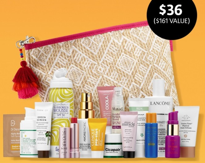 Sephora Sun Safety Kit 2018