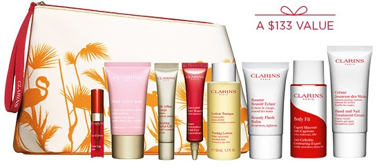 clarins gift with purchase