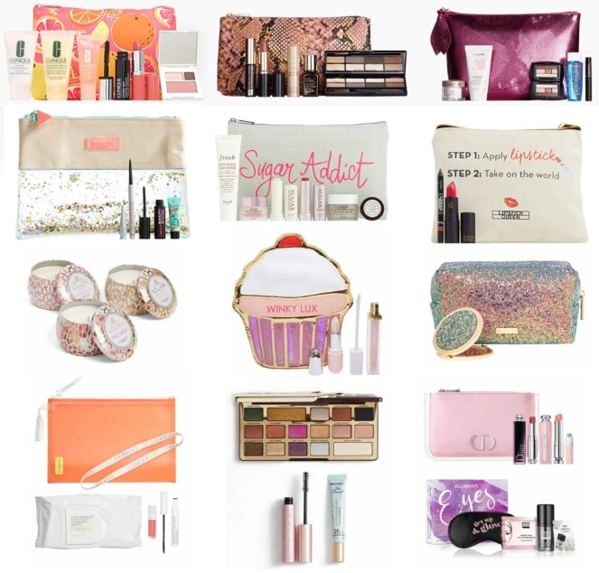 nordstrom anniversary sale gifts with purchase and beauty exclusives