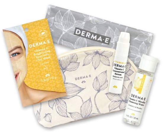 derma e gift with purchase