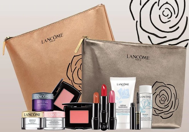 lancome gift with purchase at von maur