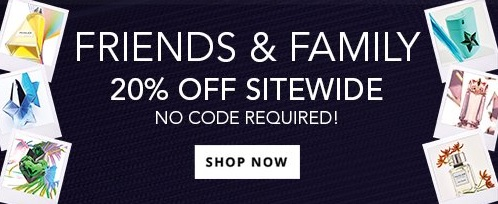Mugler Parfums Friend and Family Sale