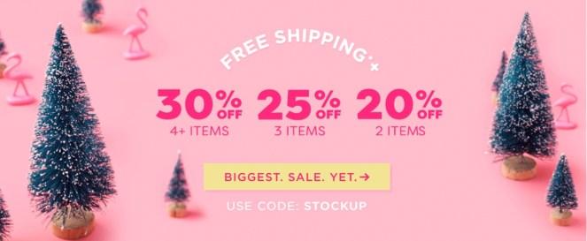 tarte cosmetics stockup sale