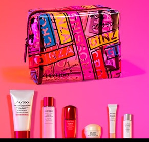 shiseido gift with purchase