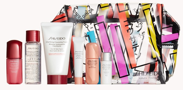 shiseido gift with purchase at nordstrom