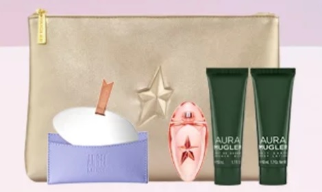 mugler parfums gift with purchase