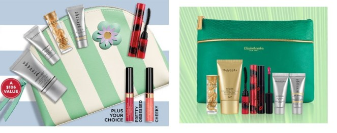 elizabeth arden gifts with purchase