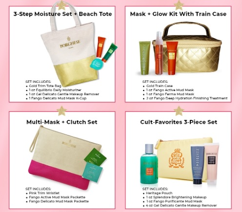 borghese gifts with purchase