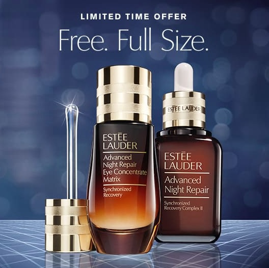 estee lauder advanced night repair buy one get one free offer 2019