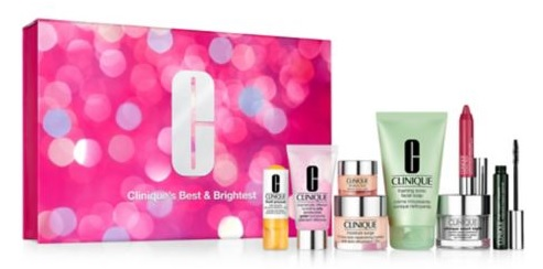 Clinique Best and Brightest Set purchase with purchase 2019