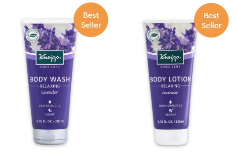 Kneipp Lavender Body Products gifts with purchase