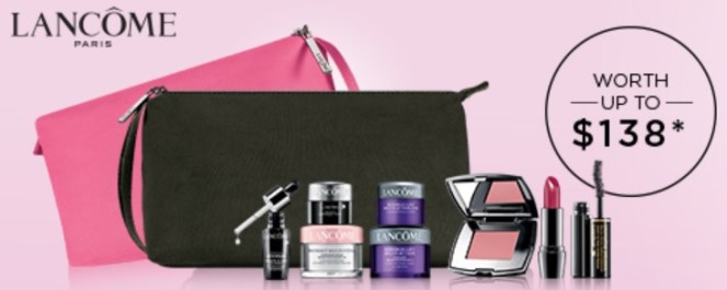 lancome gift with purchase at boscov's and von maur