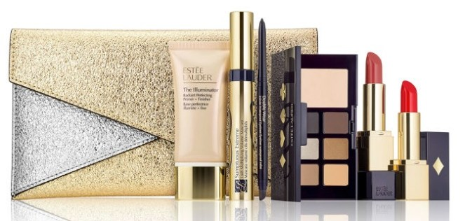 estee lauder holiday party shimmer clutch purchase with purchase