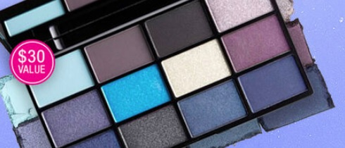 nyx cosmetics eyeshadow palette gift with purchase