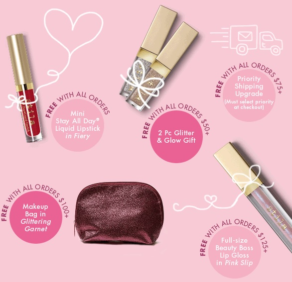 stila gifts with purchase