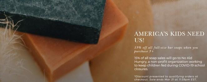 Apoterra Bar Soap Offer