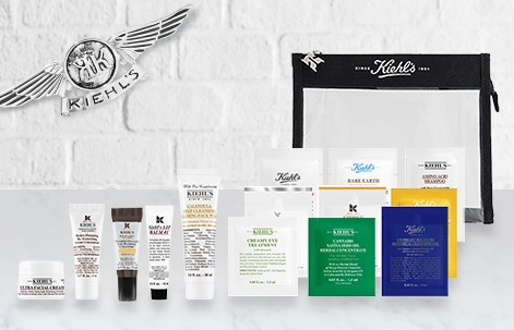 kiehl's friends and family sale gift with purchase