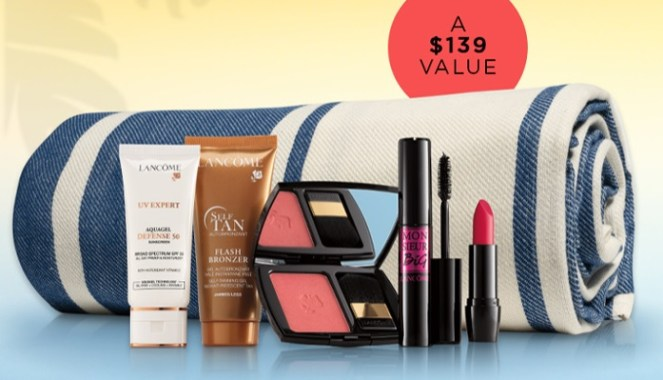 lancome summer essentials 2020 purchase with purchase