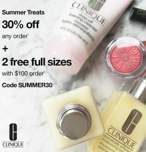 Clinique Summer Savings Event June 2020