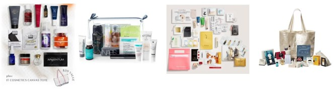Fall 2020 beauty event gifts with purchase