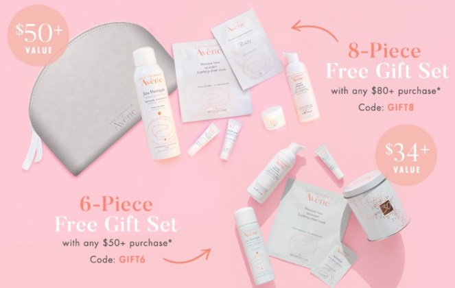 avene gift with purchase