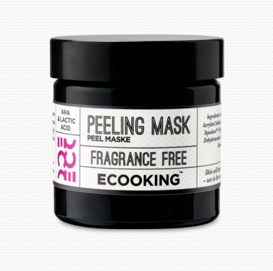 ecooking gift with purchase peeling mask