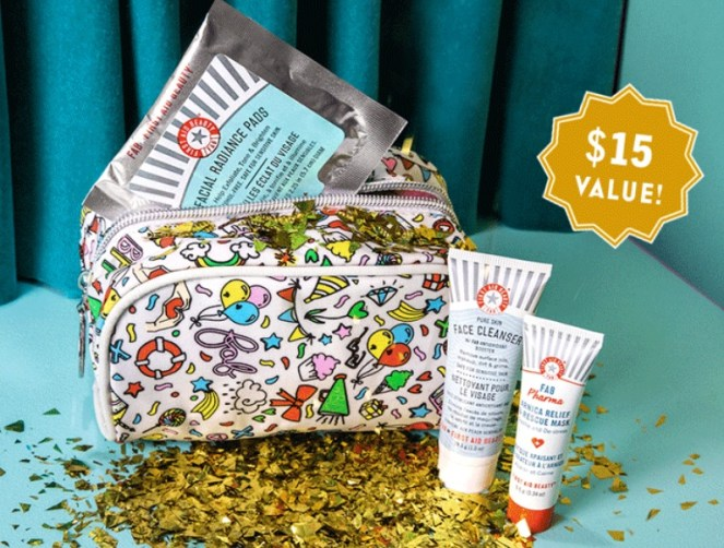 first aid beauty gift with purchase