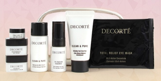 decorte gift with purchase