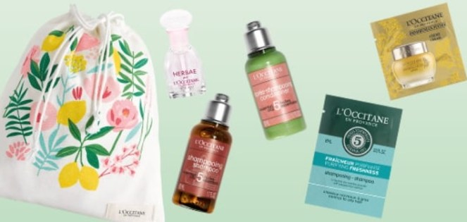 l'occitane gift with purchase