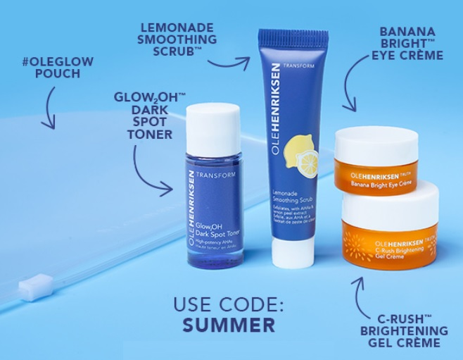 ole henriksen gift with purchase