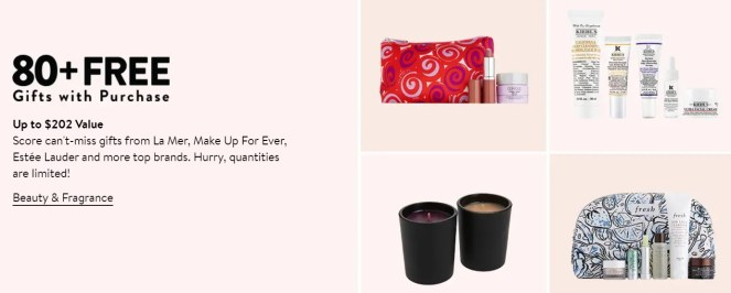 nordstrom fall beauty event 2021