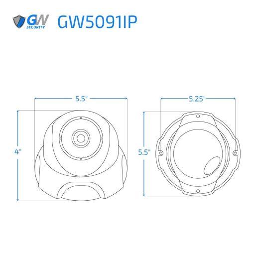 5091IP dimensions