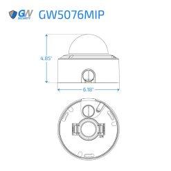5076MIP dimensions