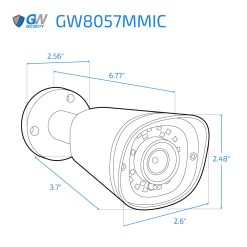 8057MMIC dimensions