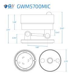 5700MIC dimensions
